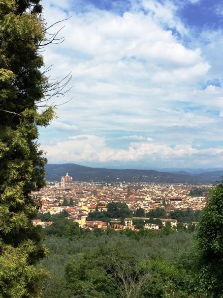 View from a little spot that our Italian friend brought us to. It was beside a monastery.