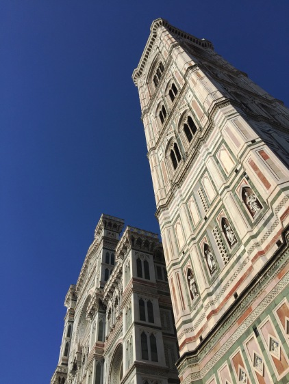 The tower that accompany's the beautiful duomo of Florence.